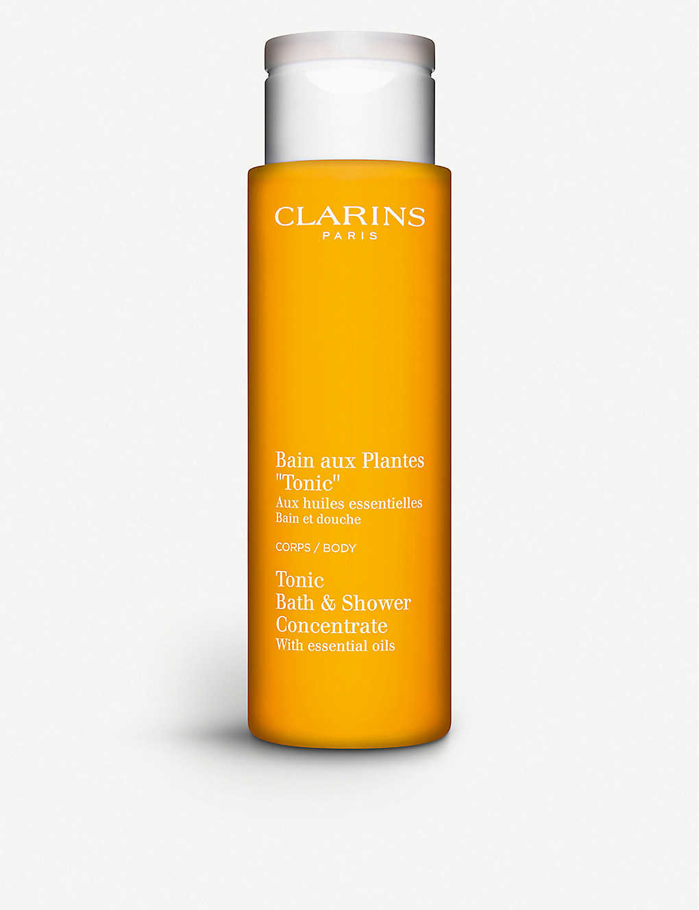 CLARINS: Tonic bath and shower concentrate 200ml