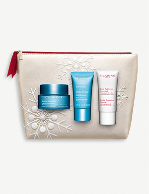 CLARINS Hydra-Essentiel Collection set of three