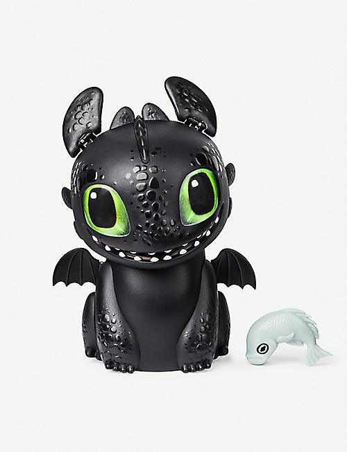 HATCHIMALS Hatching Toothless Interactive Baby Dragon egg toy
