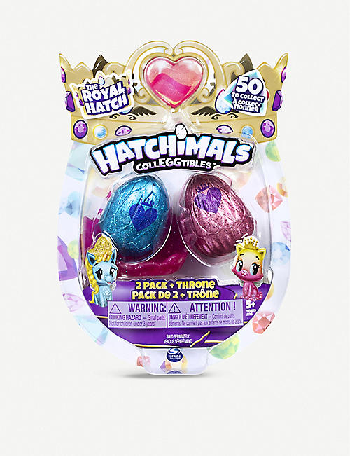 HATCHIMALS CollEGGtibles Royal Hatch two pack