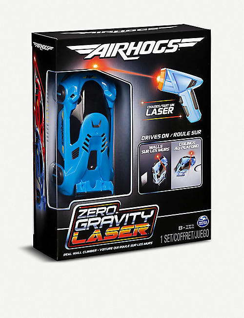 AIR HOGS: Air Hogs Blue Zero Gravity Laser Racer car