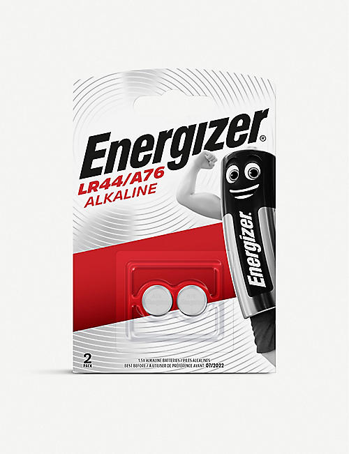 ENERGIZER: LR44 A76 Alkaline batteries pack of two