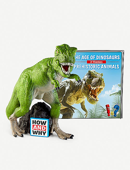 TONIES: The Age of Dinosaurs Toniebox audiobook toy