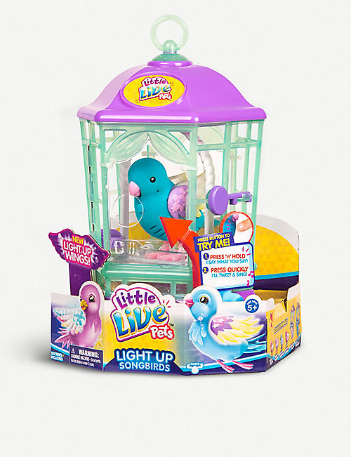 LITTLE LIVE PETS Light Up Songbirds toy