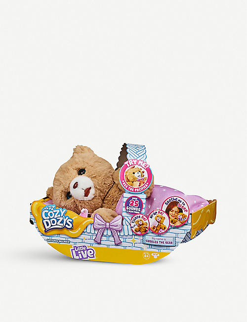 LITTLE LIVE PETS Cubbles the Cozy Dozy bear