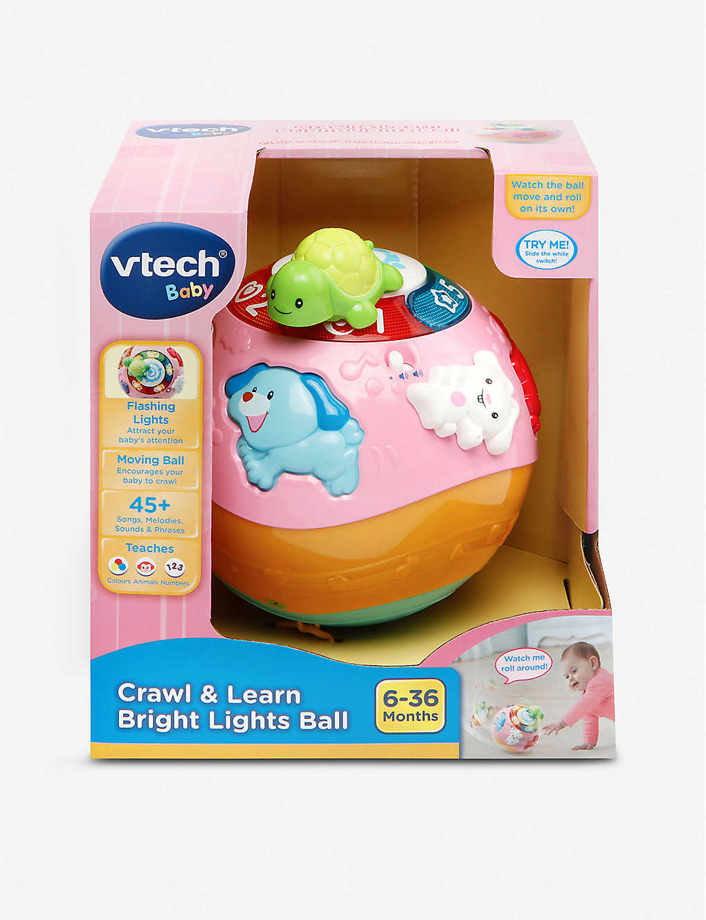 VTECH: Crawl and Learn Bright Lights Ball