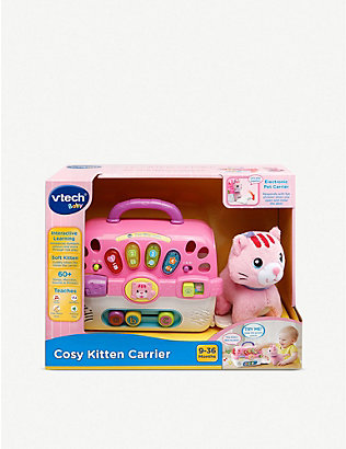 VTECH: Cosy kitten carrier soft toy and carry case