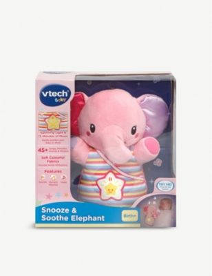 VTECH Snooze & Soothe elephant toy