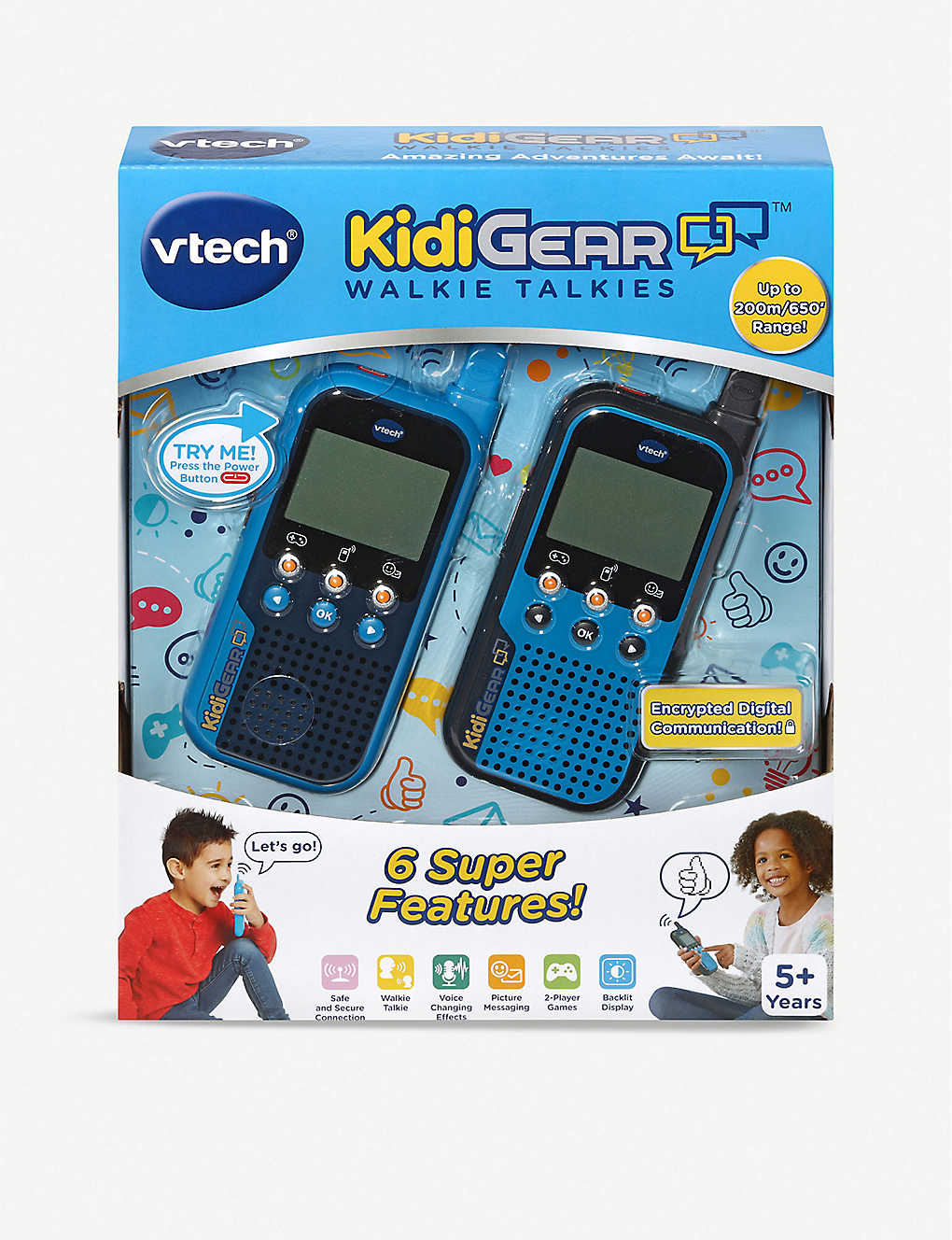VTECH: KidiGear walkie-talkies