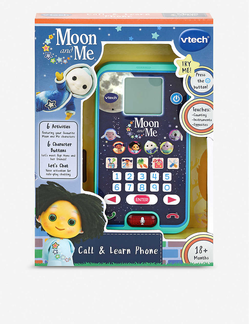 VTECH: Moon & Me: Call & Learn Phone