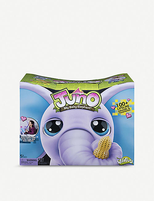JUNO My Baby Elephant interactive toy