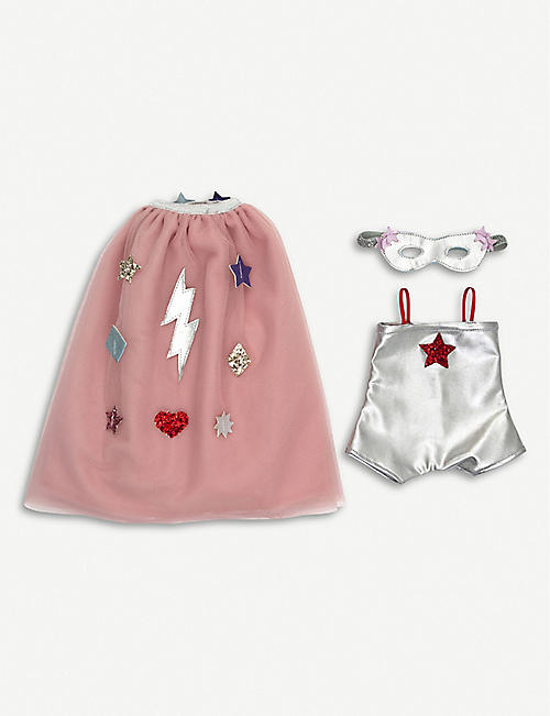 e6068d617059 MERI MERI · Superhero doll dress-up set