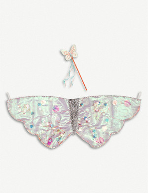 MERI MERI Sequin butterfly wings dress-up set