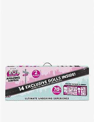 L.O.L. SURPRISE: Limited Edition Ultimate Unboxing Experience playset ages 3+