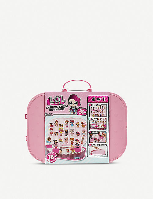 L.O.L. SURPRISE Fashion Show On-the-go storage case and playset