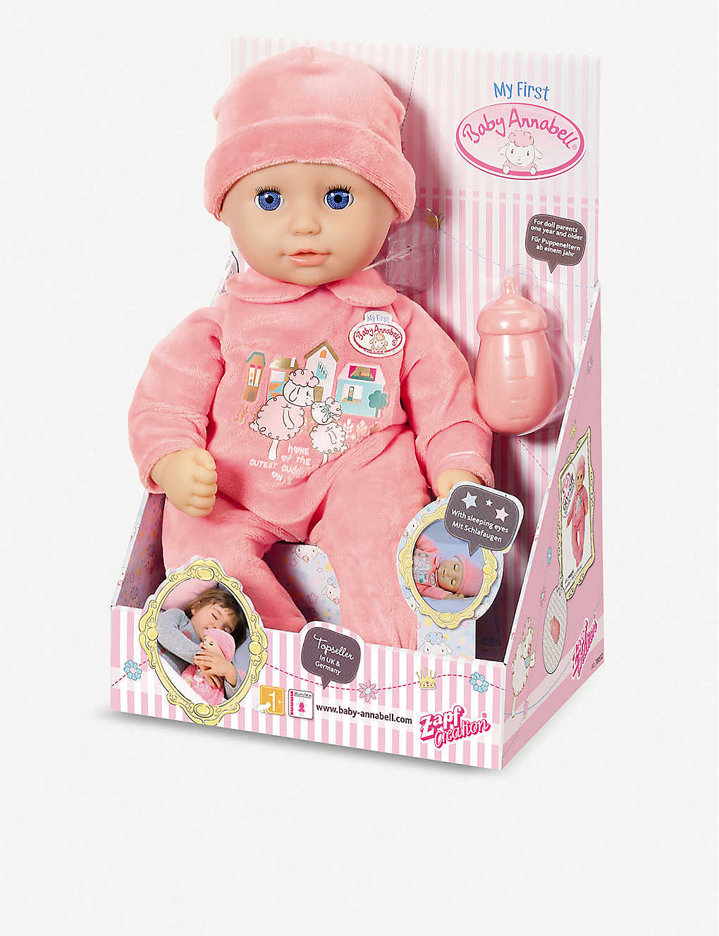BABY ANNABELL - My First Baby Annabell sleeping eyes doll ...