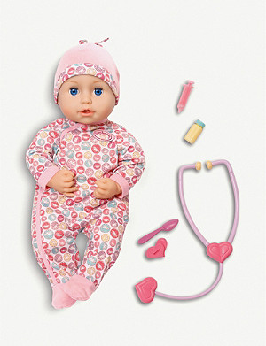 BABY ANNABELL Milly feels better interactive doll