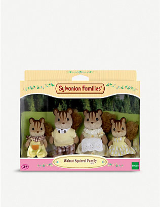 SYLVANIAN FAMILIES: Walnut Squirrel family set