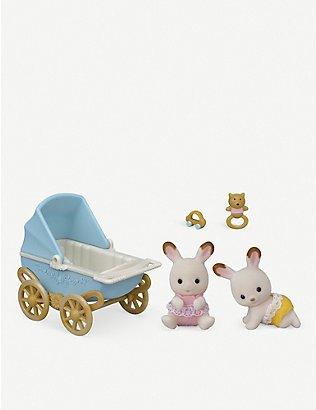 SYLVANIAN FAMILIES: Chocolate rabbit twins set