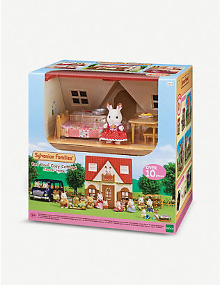 SYLVANIAN FAMILIES: Red Roof Cosy Cottage playset