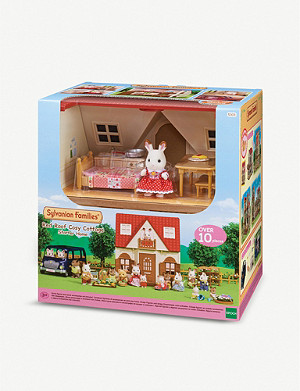 SYLVANIAN FAMILIES Red Roof Cosy Cottage playset