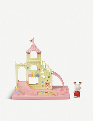 SYLVANIAN FAMILIES: Baby Castle Playground set