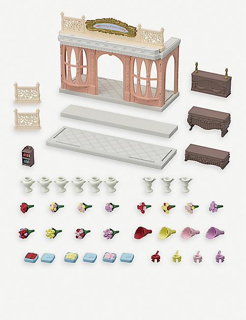 SYLVANIAN FAMILIES Blooming flower shop toy set