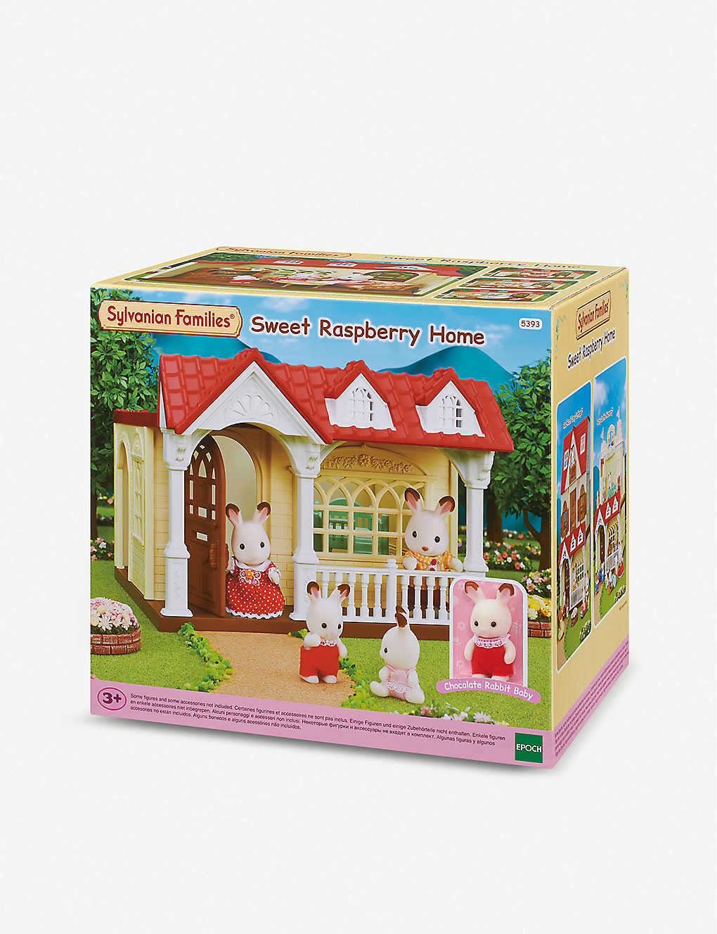SYLVANIAN FAMILIES: Sweet Raspberry Home toy set
