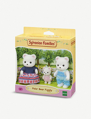 SYLVANIAN FAMILIES Polar Bear Family toy set
