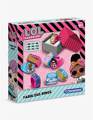 L.O.L. SURPRISE: Fabulous Rings jewellery making set
