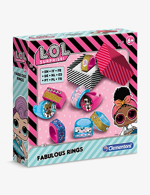 L.O.L. SURPRISE Fabulous Rings jewellery making set