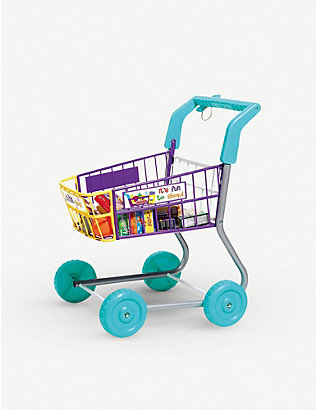 CASDON: Food shopping trolley toy set