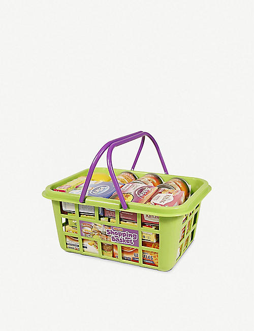CASDON Food shopping basket toy set