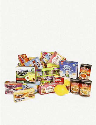 CASDON: Food shopping basket toy set