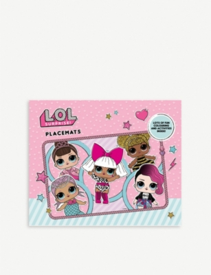 L.O.L. SURPRISE Colouring placemats pad