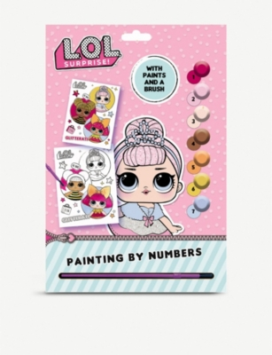 L.O.L. SURPRISE Painting by Numbers