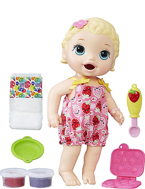 BABY ALIVE Snackin' Lily Doll