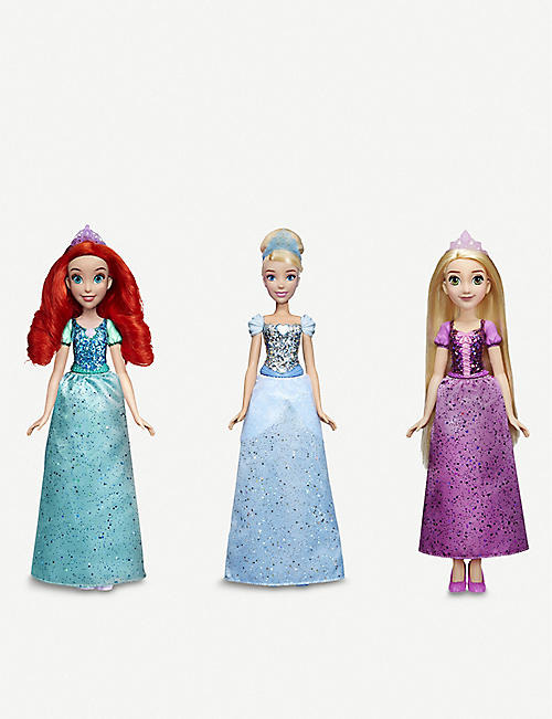 DISNEY PRINCESS: Shimmer fashion doll assortment set