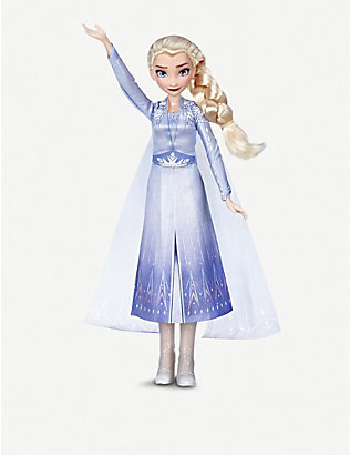 FROZEN II: Disney Frozen II Singing assorted Anna or Elsa doll with music