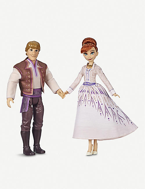 FROZEN Disney Frozen II Anna and Kristoff dolls
