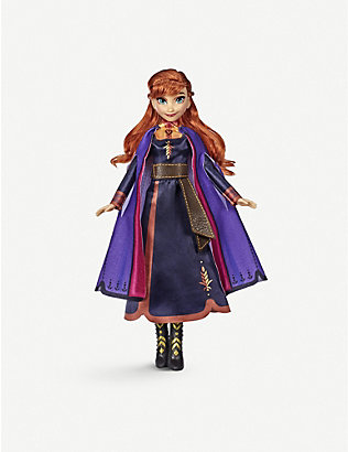 FROZEN II: Disney Frozen II singing Anna doll 30cm
