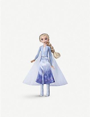 FROZEN II: Disney Frozen II Elsa or Anna Magical Swirling Adventure Light Up assorted doll 35cm