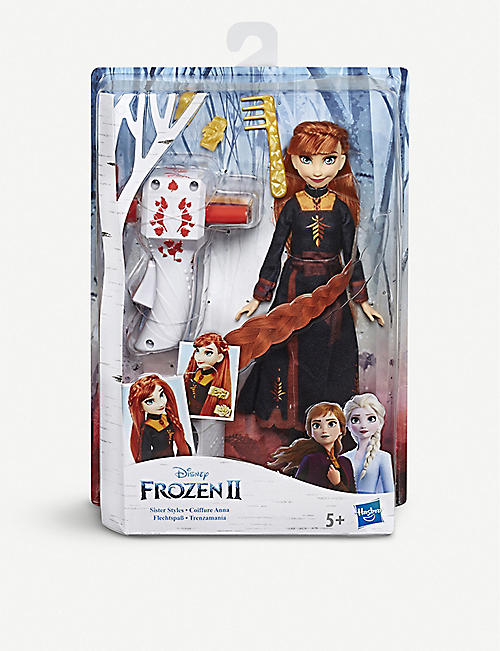 FROZEN Disney Frozen II Anna Hair Play doll 35cm