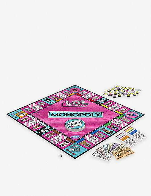 L.O.L. SURPRISE Monopoly Game L.O.L. Surprise edition