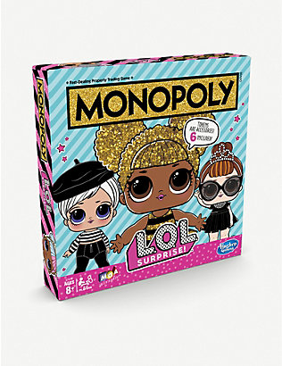 L.O.L. SURPRISE: Monopoly Game L.O.L. Surprise edition