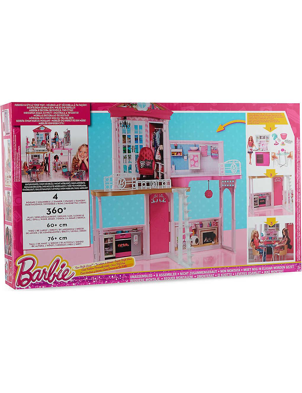 BARBIE - My style house play set | Selfridges com