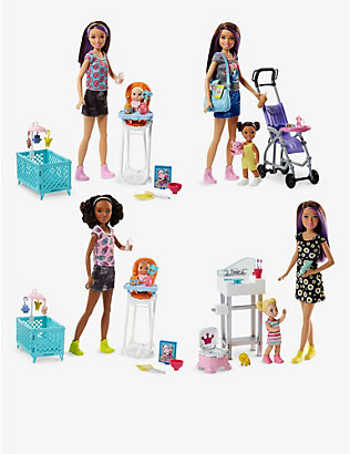 BARBIE: Skipper Babysitters doll and playset assortment