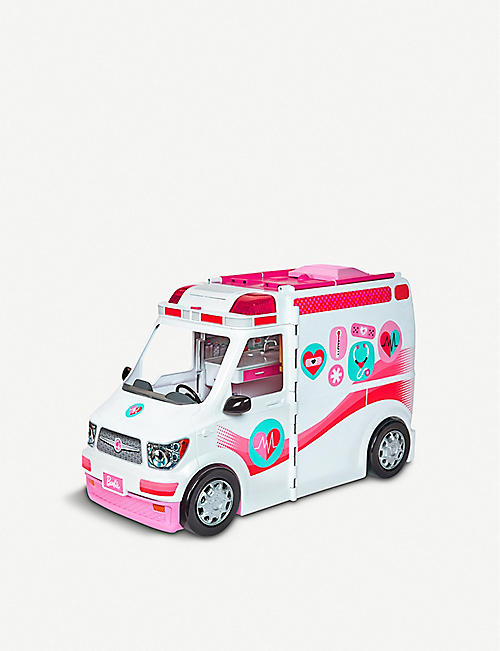 BARBIE: Care Clinic medical vehicle set