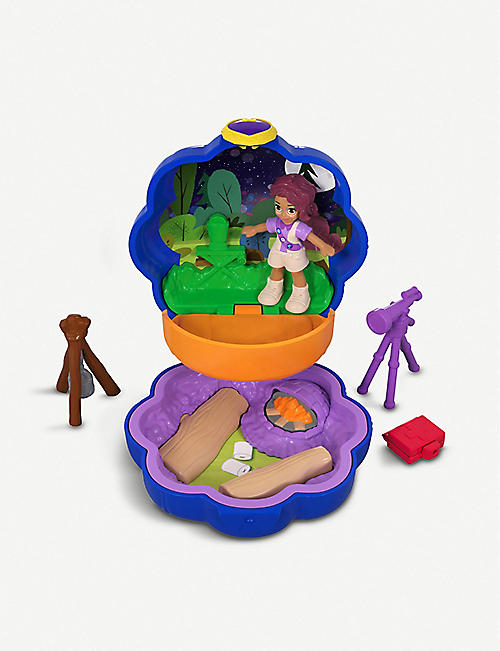 POLLY POCKET Shani's Camping Adventure micro playset