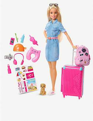 BARBIE: Barbie Travel Doll Set